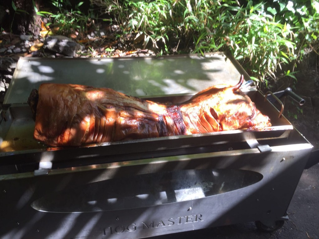 Hog Roast Ready To Carve and Serve