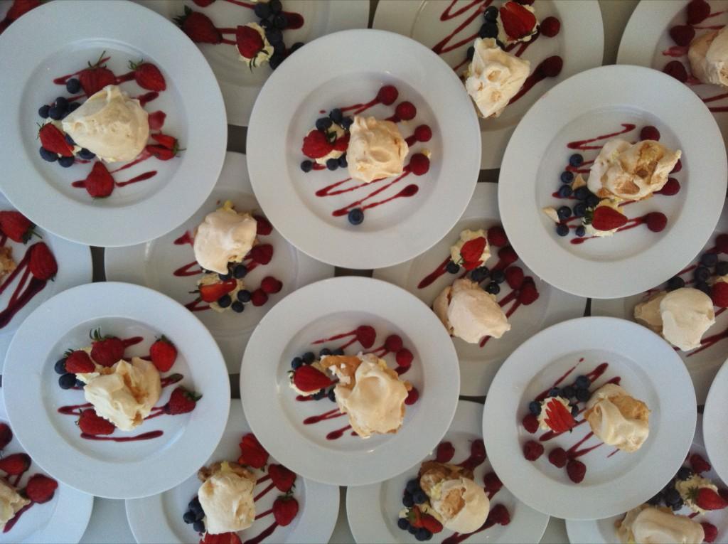 Strawberrys and Ice Cream