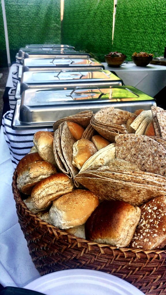 Fresh Bread Rolls And Wraps